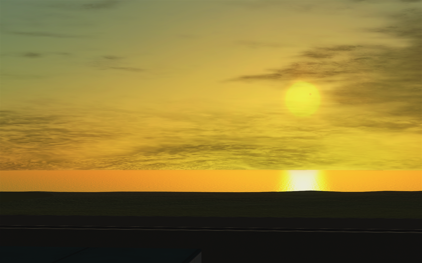 Don't clean your screen. That dot on the sun is Minmus!